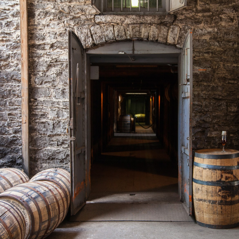 barrels by entrance