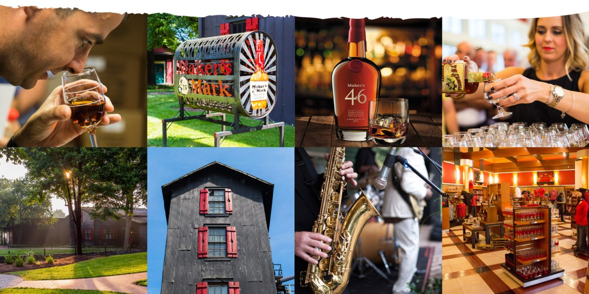 Maker's Mark image collage