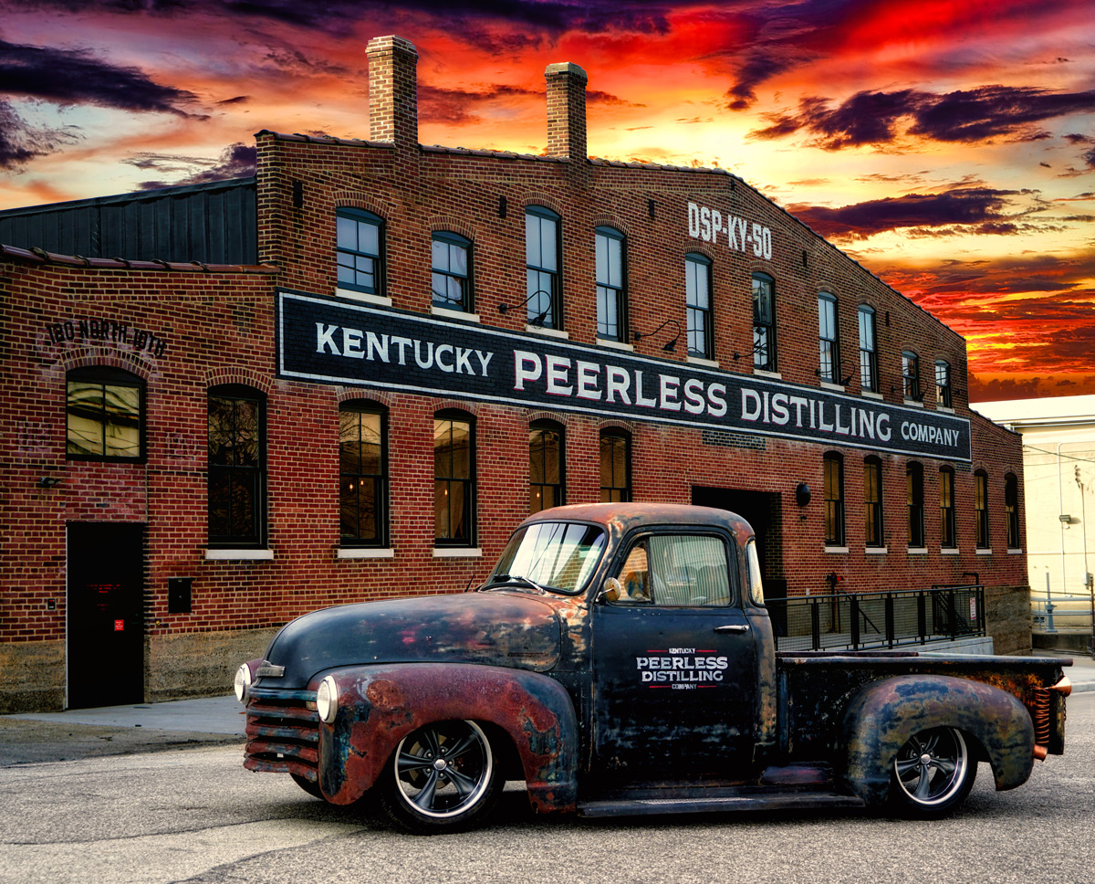 Kentucky Peerless Distilling Co Exterior Truck - Whisky Magazine Names Kentucky Peerless Global Craft Producer of the Year