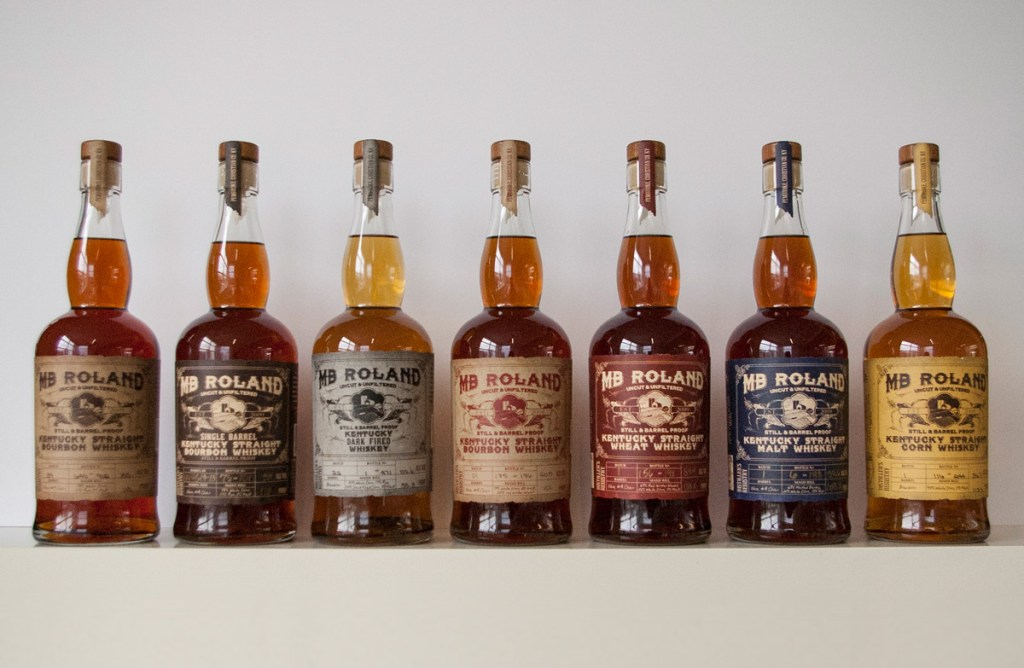 MB Roland Whiskeys 1024x668 - Kentucky Bourbon Trail Craft Tour® Itinerary