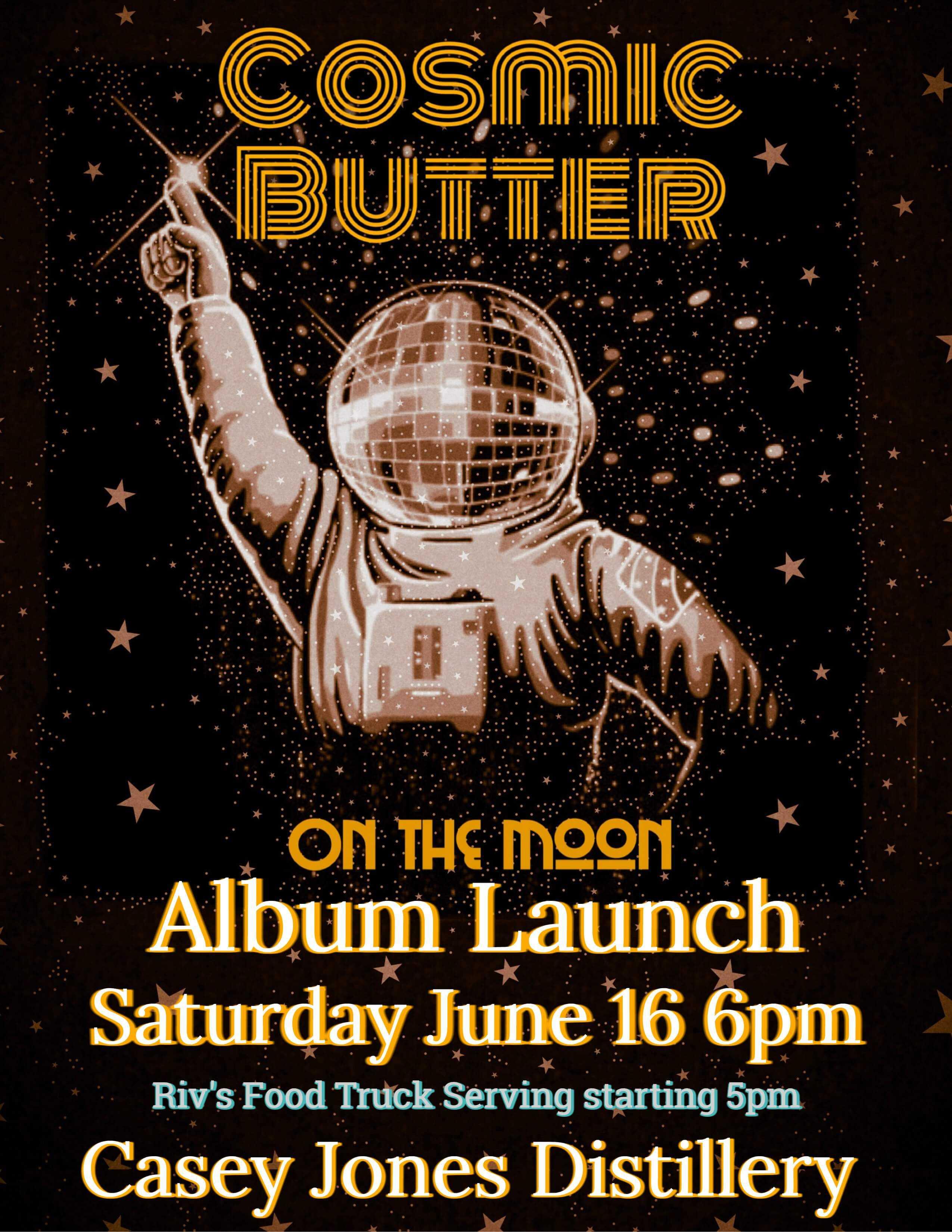 Cosmic Butter Poster 1 - Cosmic Butter Album Launch