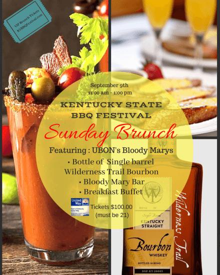 Kentucky State BBQ Festival Advertisement