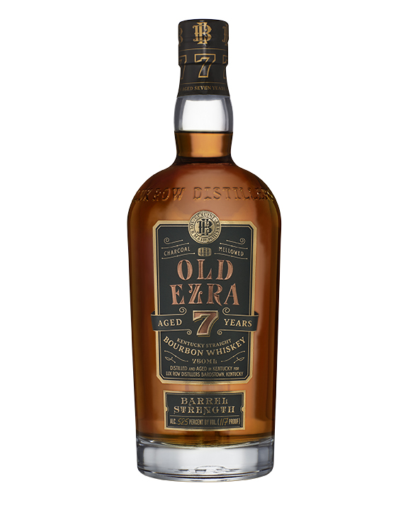 Old Ezra 750 mL - Luxco Introduces Old Ezra Barrel Strength Kentucky Straight Bourbon