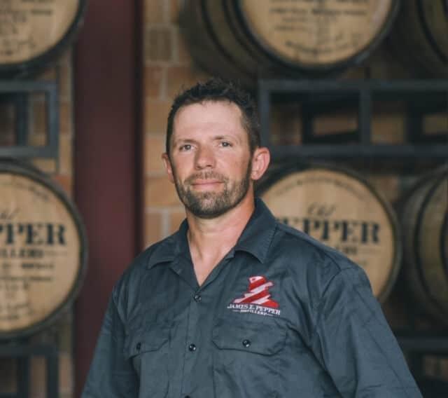 Aaron Schorsch Master Distiller 1 - James E. Pepper Distillery marks one year of distilling in historic location