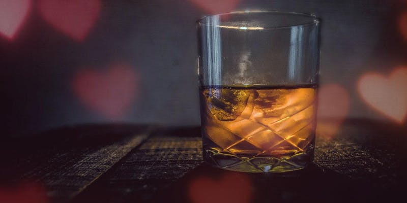 valentine drink - Valentine's Bourbon Dinner