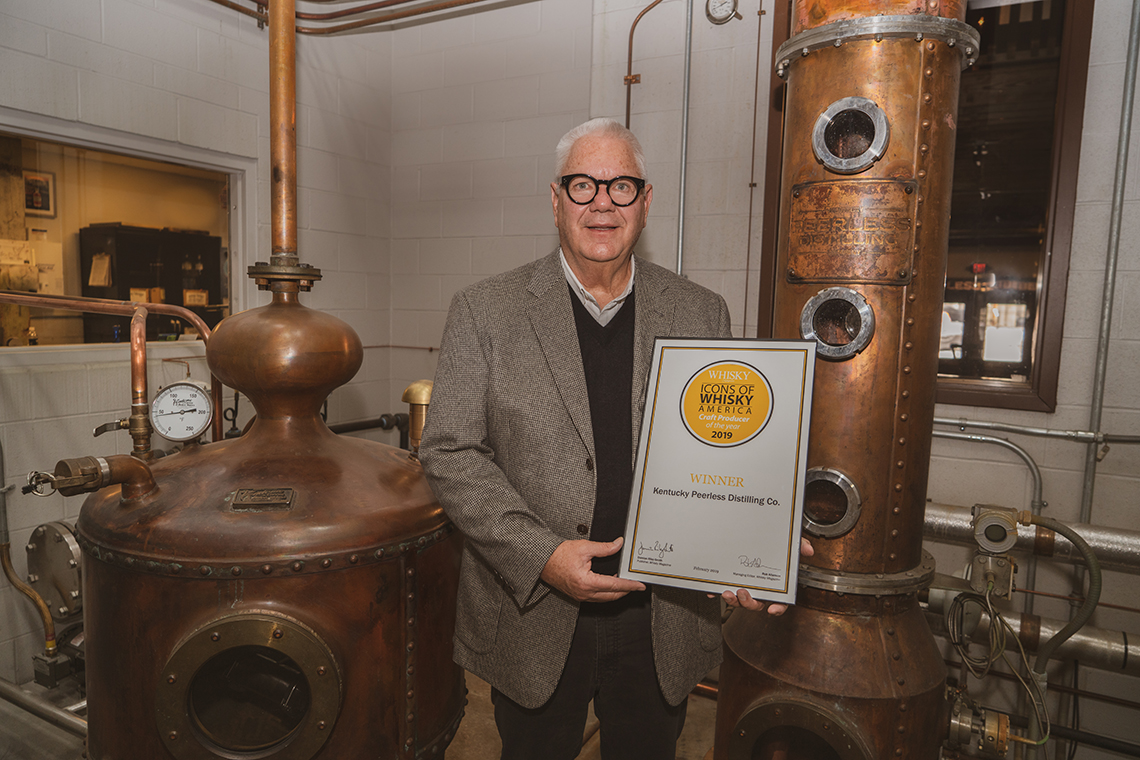 Best Craft Distillery 2019 Peerless 5 - Kentucky Peerless Named Craft Producer of the Year