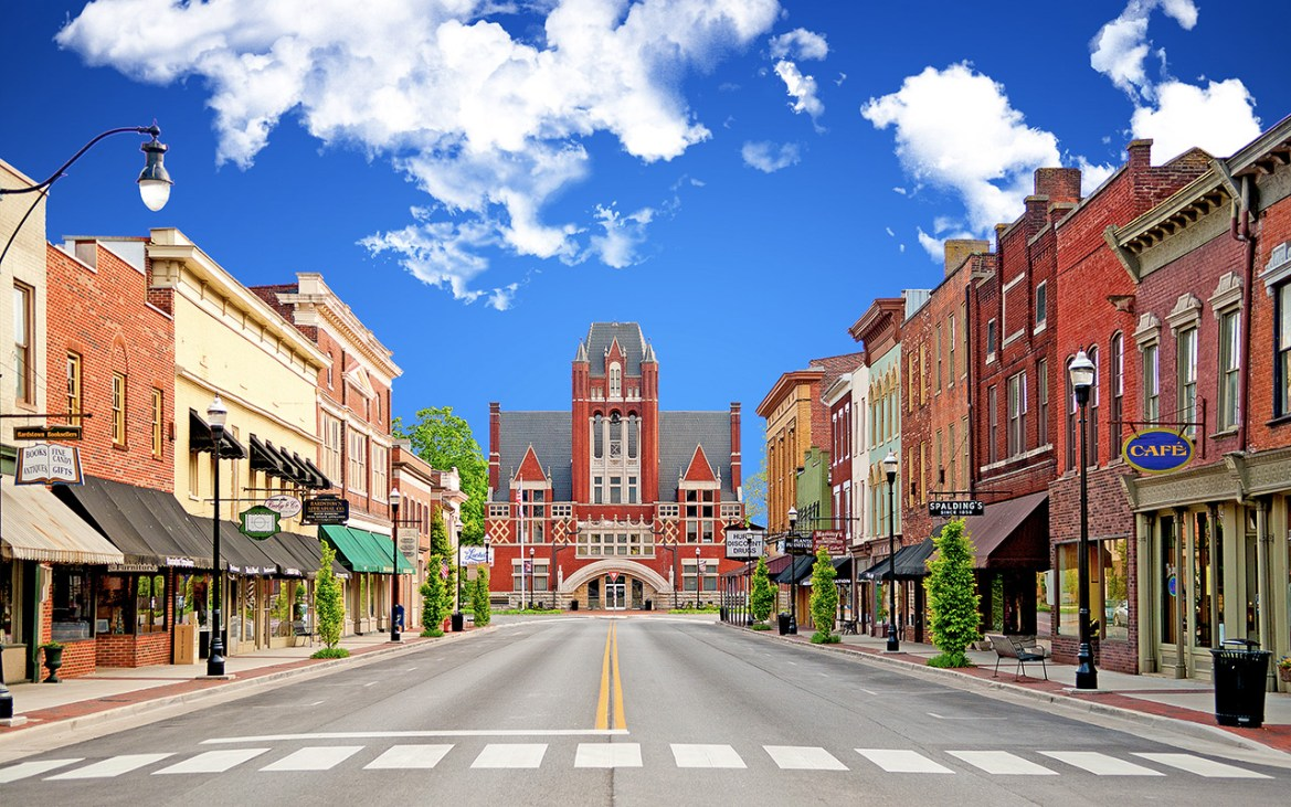 Named Most Beautiful Small Town Large File - ITINERARIES