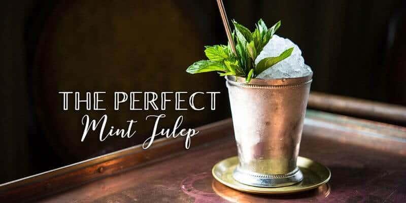 mint julep knittel - The Perfect Mint Julep