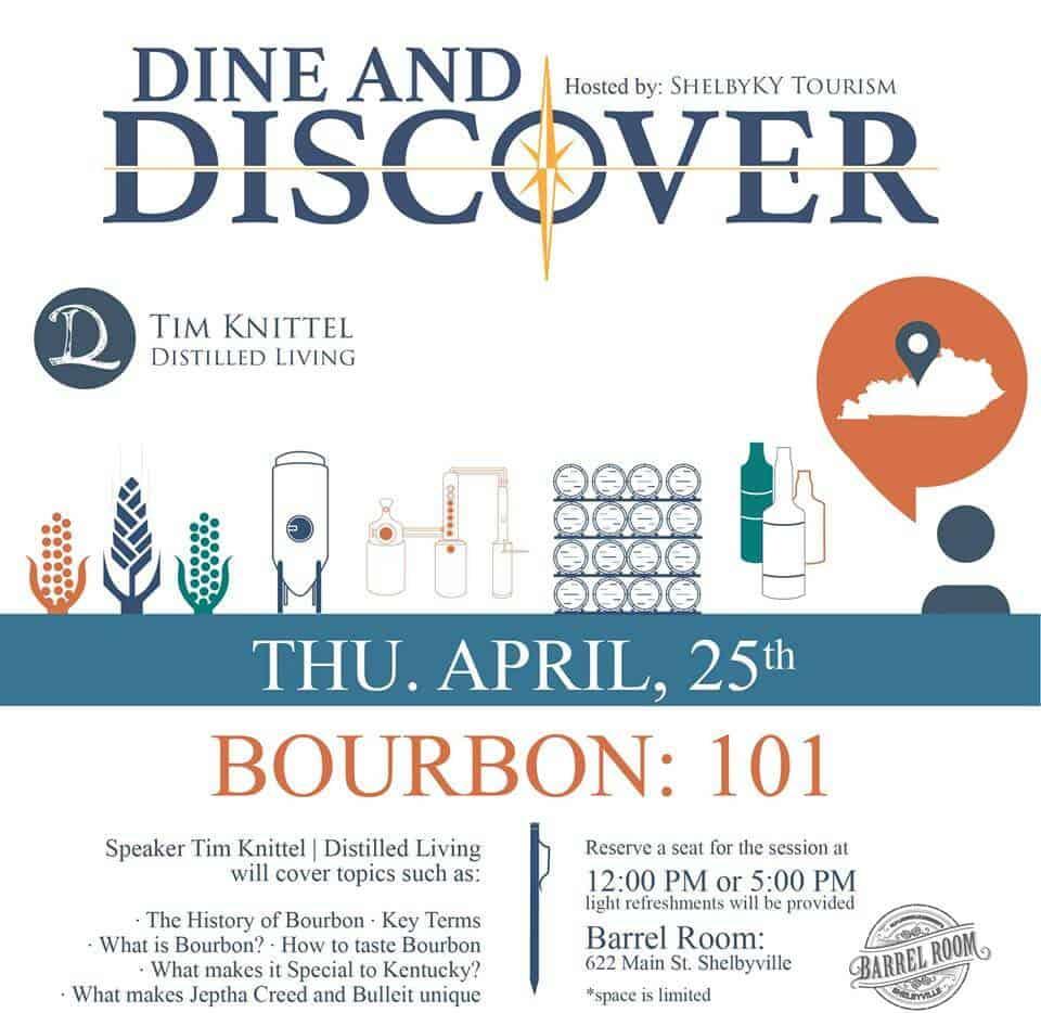 Dine and Discover - Dine & Discover- Bourbon: 101