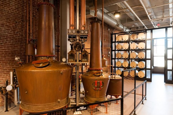Michters Fort Nelson Distillery Pot Still System - A Classic Evening at Michter's Fort Nelson