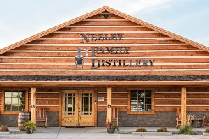 Building front Tim - Neeley Family Distillery