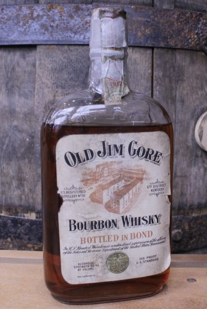 "Gore 689x1024 - Rare, Prohibition-Era ""Dusty Bottle"" Whiskeys now sold at the Frazier"