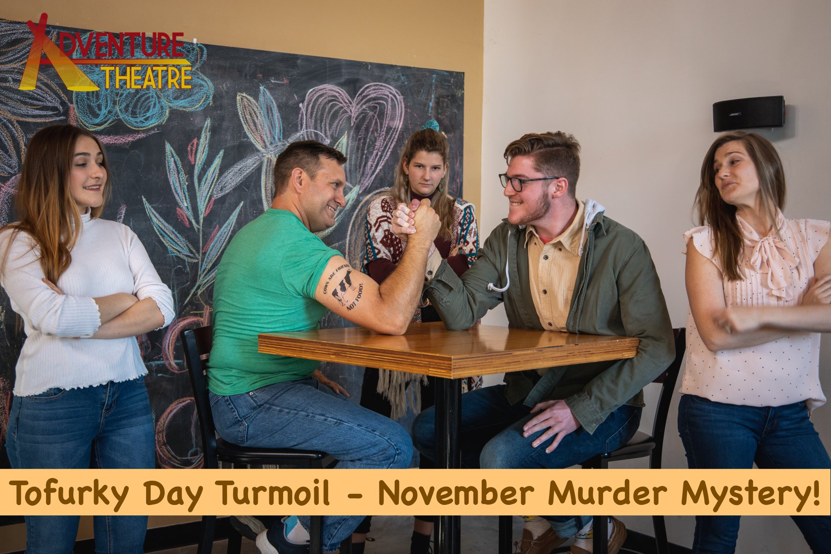 Tofurky - Murder Mystery Dinner by Adventure Theatre