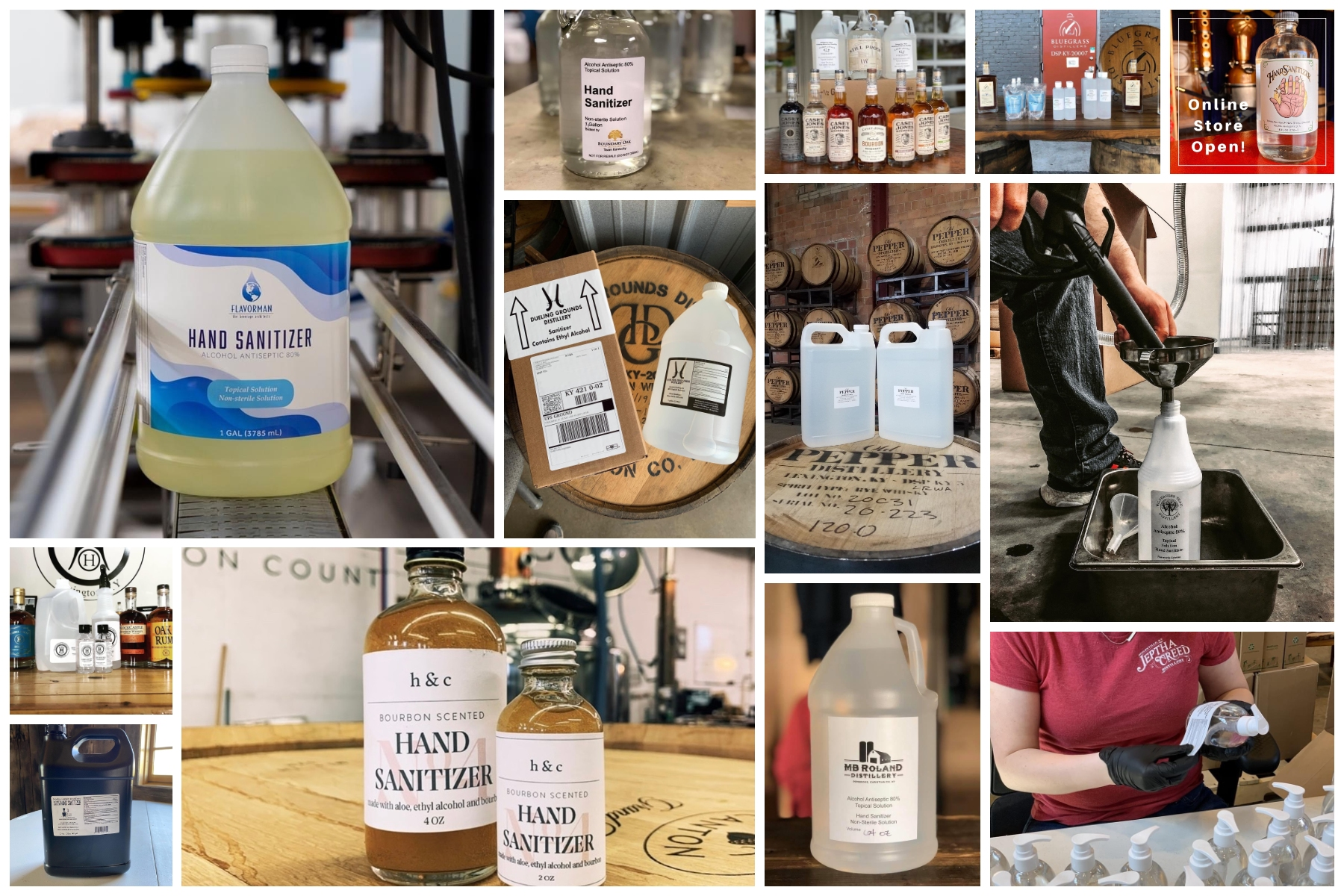 collage from picmyna 3 - Public Sale of Hand Sanitizer