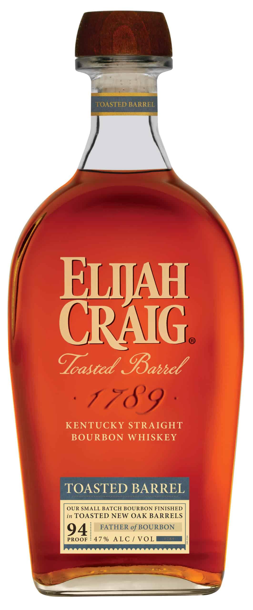 EC ToastedBarrel Bottle StraightOn 2020 scaled - Elijah Craig Launches Toasted Barrel Kentucky Straight Bourbon Whiskey