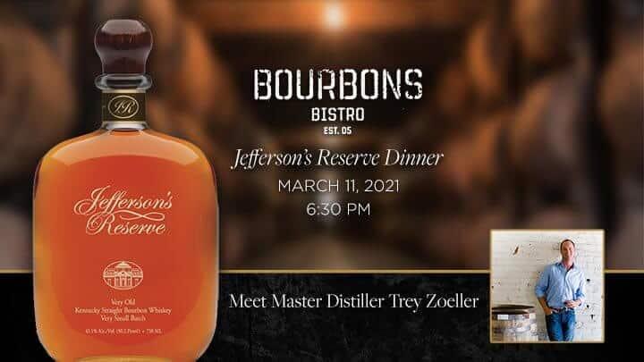 JeffReserveDinnerEmail - Jefferson's Reserve Dinner