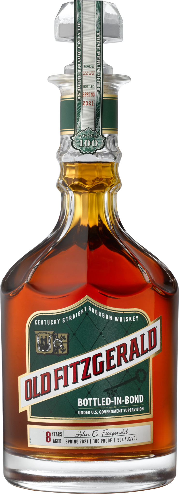 Old Fitz Bottle Spring 2021 - Heaven Hill Distillery Announces Spring 2021 Edition of the Old Fitzgerald Bottled-in-Bond Series