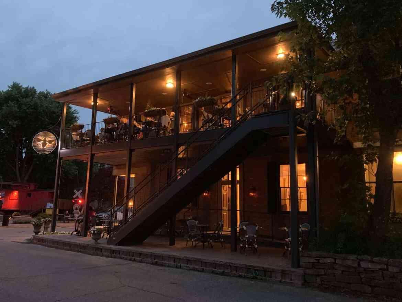 Beehive tavern exterior evening - Meet the New Kids on the B-Line Block