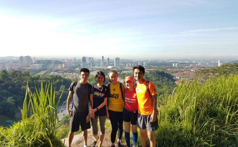 Hiking at Kota Damansara Community Forest Reserve