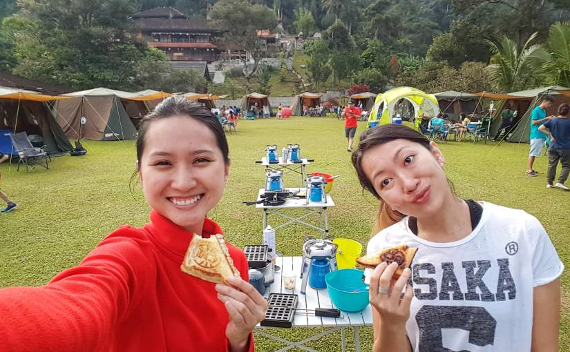 School Holiday Coleman Family Glamping near KL Mar 2018