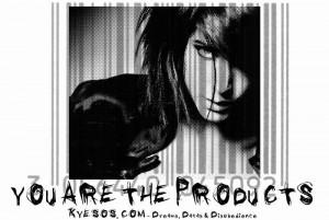 TShirt-YouAreTheProducts