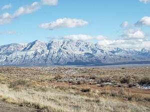 Sandia Mountains from Rio Rancho, NM