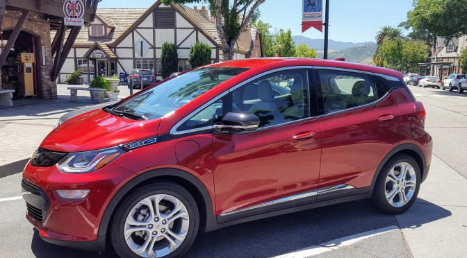 24 Hours With The 2017 Chevy Bolt Cleantechnica Review Kyle Field