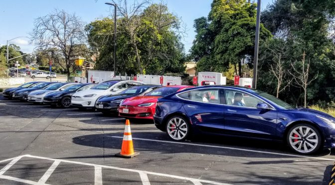 Tesla Leverages Software To Eke Out More Supercharging Capacity