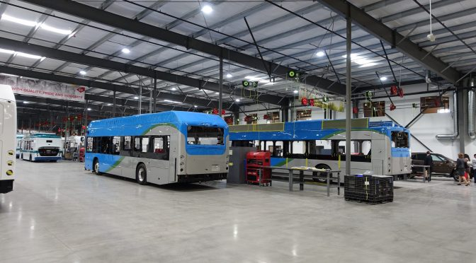 BYD Adds Bus Manufacturing Capacity In North America With New Canadian Plant