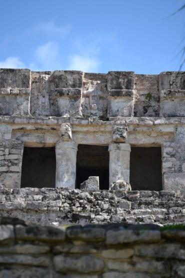 Facade of Pyramid El Castillo