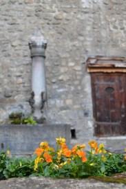 Courtyard of Chillon Castle - Montreux, Switzerland