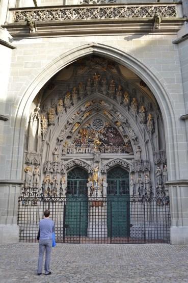 Munsterplatz Cathedral - Bern, Switzerland
