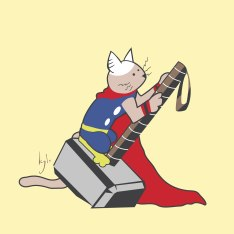 catvengers-thor