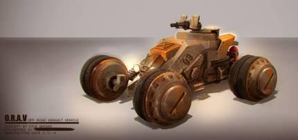 O.R.A.V Vehicle concept