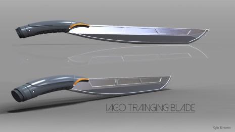 Iago Training Blade Concept Model