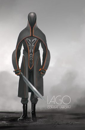 Iago Combat Costume Concept
