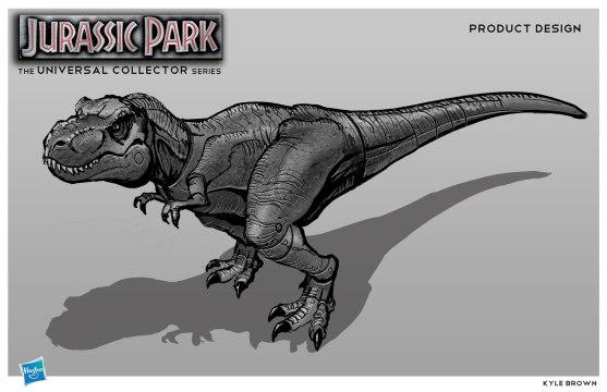 T-Rex Figure Design