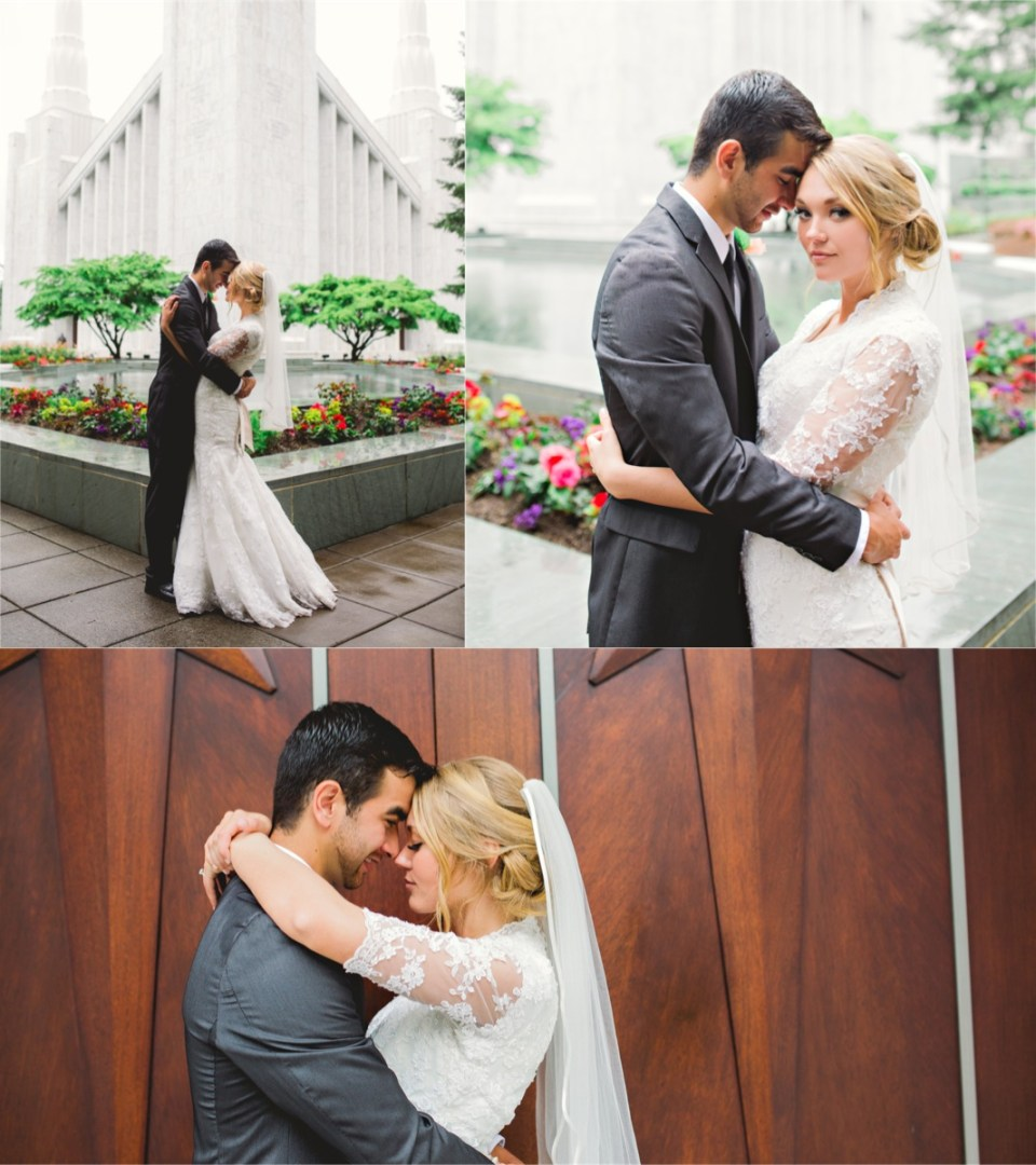 How to Take Pictures at a LDS Temple Wedding 1