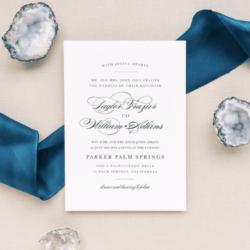 Dreamy Perfect Customizable Wedding Invitations Romantic Classic