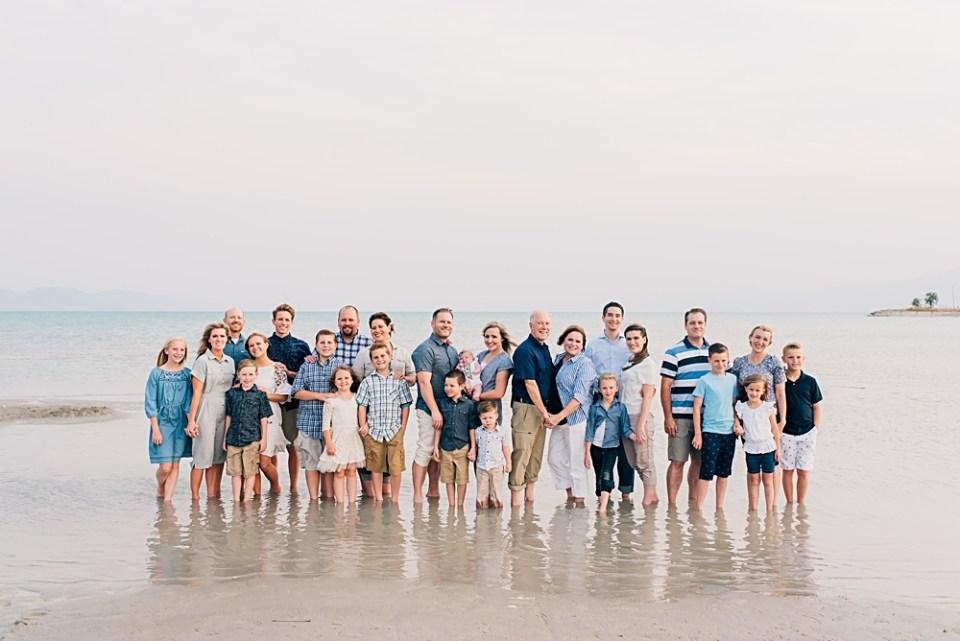 Bear Lake Extended Family Pictures   Logan Utah Photographer