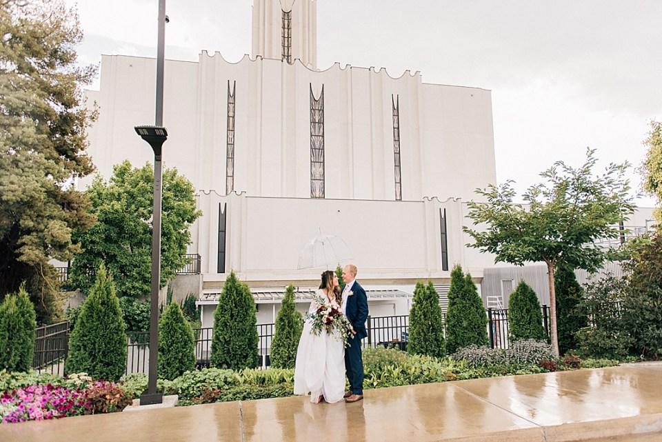 South Jordan Temple Wedding