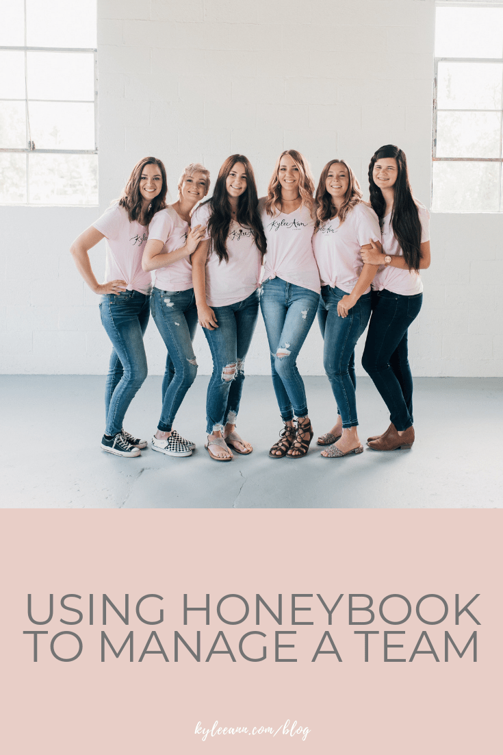 Using Honeybook to Manage a Team | Associate Photographer