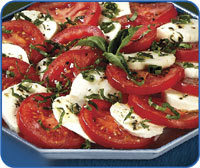 Nothing says summer like caprese salad.At least for me…