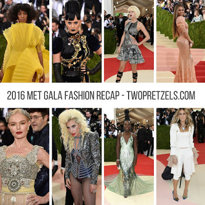 2016 Met Gala Fashion Recap
