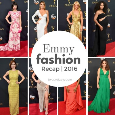 2016 Emmy Fashion Recap | Red Carpet