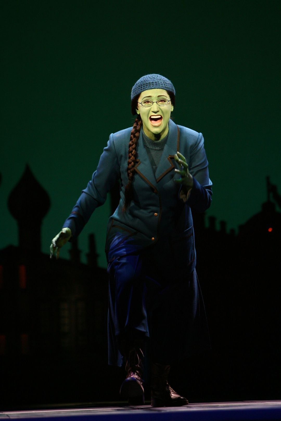 Eden Espinosa as Elphaba, photo copyright 2006 Joan Marcus.