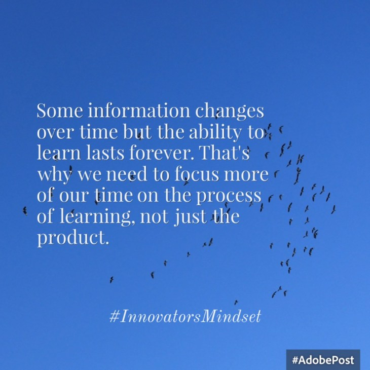 George Couros--Product Versus Process