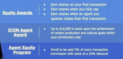 eXp Realty Stock Awards