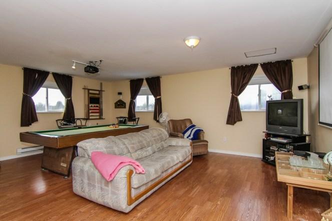 Suite above garage