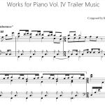 Works for Piano Vol. IV Trailer Music